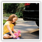 Little kids have endless energy, stamina and imagination, and they're always looking for a fun place to play. Here are a few tips to help your little ones learn that cars and driveways are not that place.